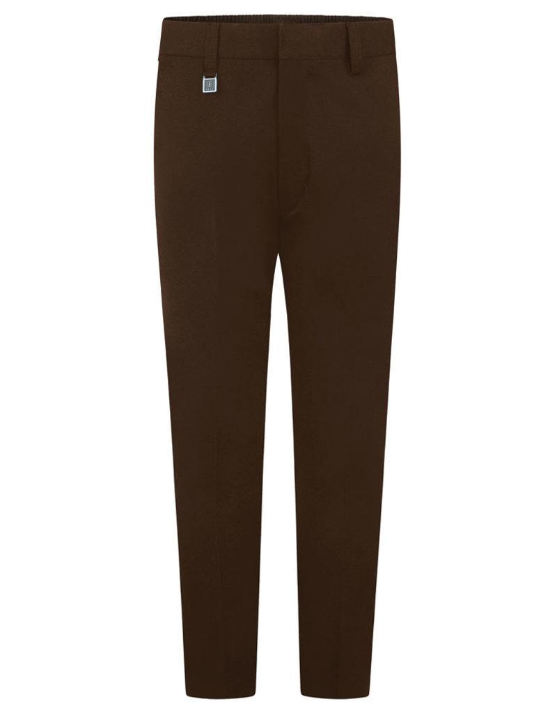Brown Slim Fit Trousers