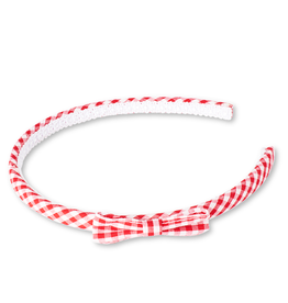Lollipop Gingham Bow Headband Various Colours