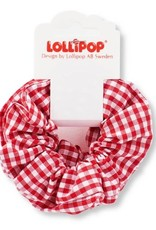 Lollipop Gingham Scrunchies