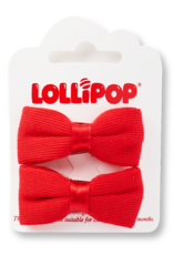 Lollipop Bow Clips
