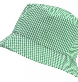 Gingham Sun Hat Green