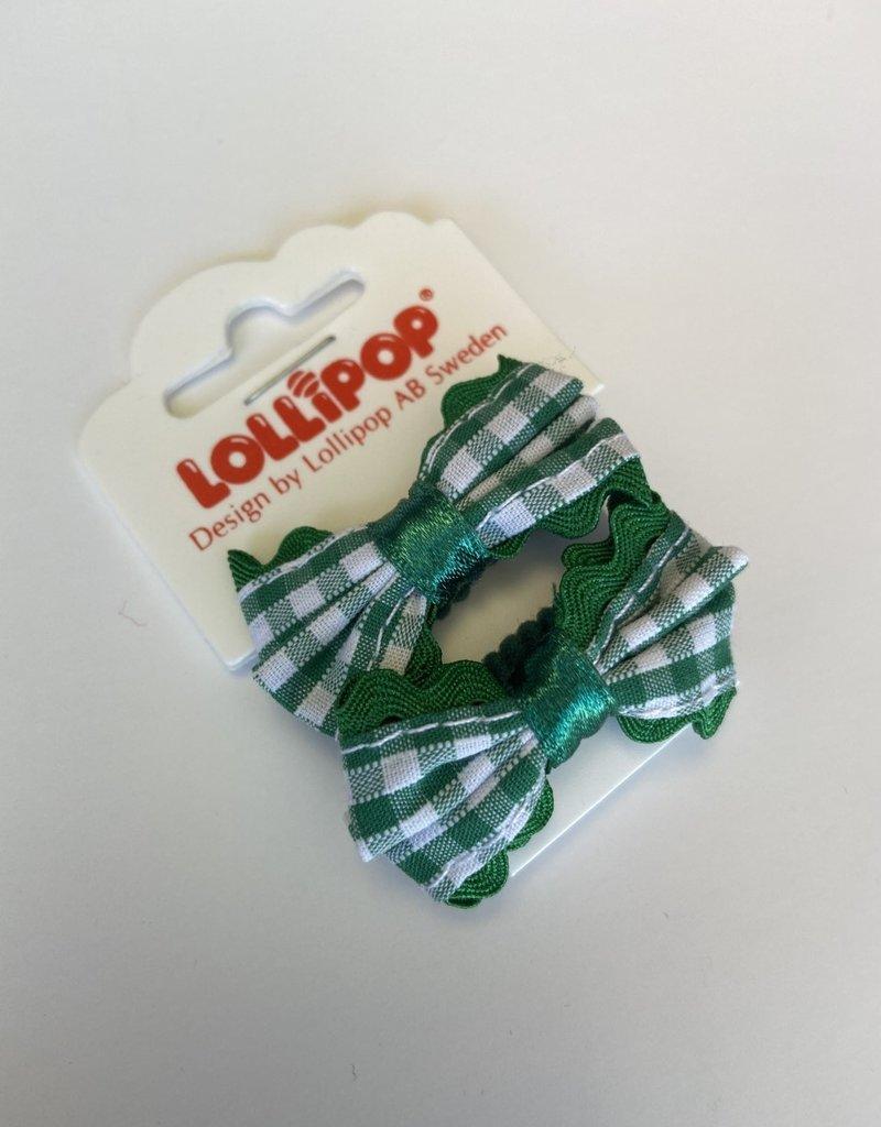 Lollipop Gingham Bow Bobble Various Colours