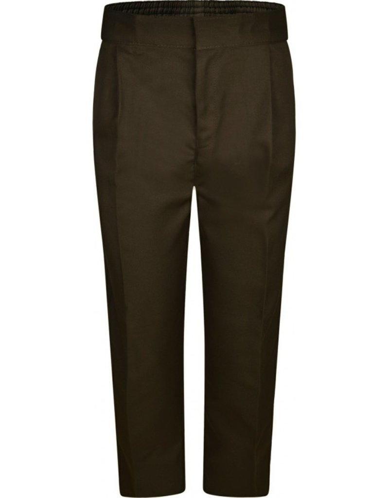Boys Primary Sturdy Fit Brown Trouser