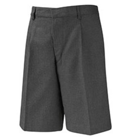 Grey Bermuda Elastic Short