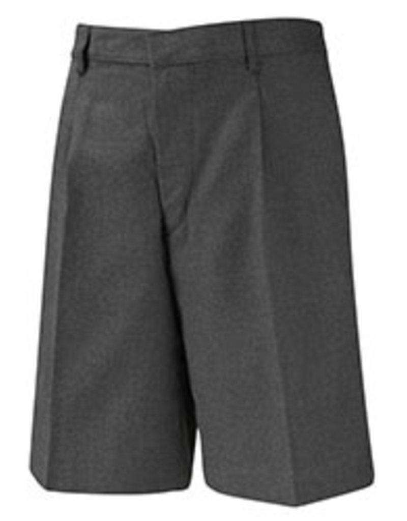 Grey Bermuda Elastic Short