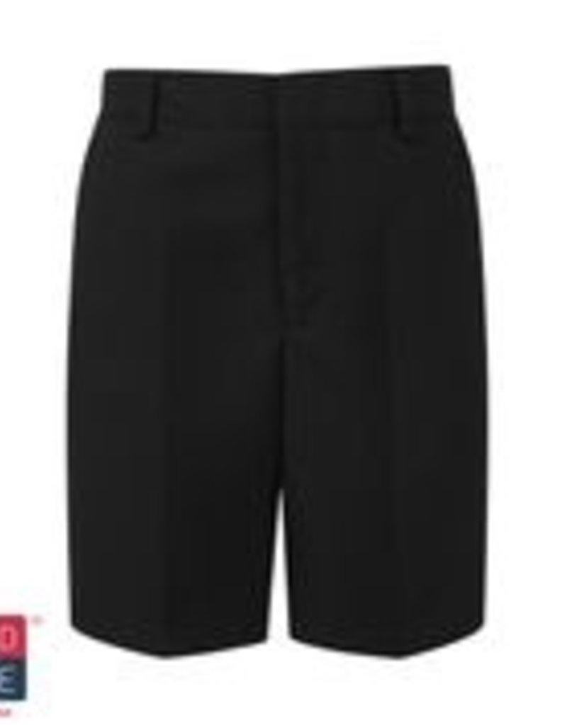 Black Bermuda Elastic Short