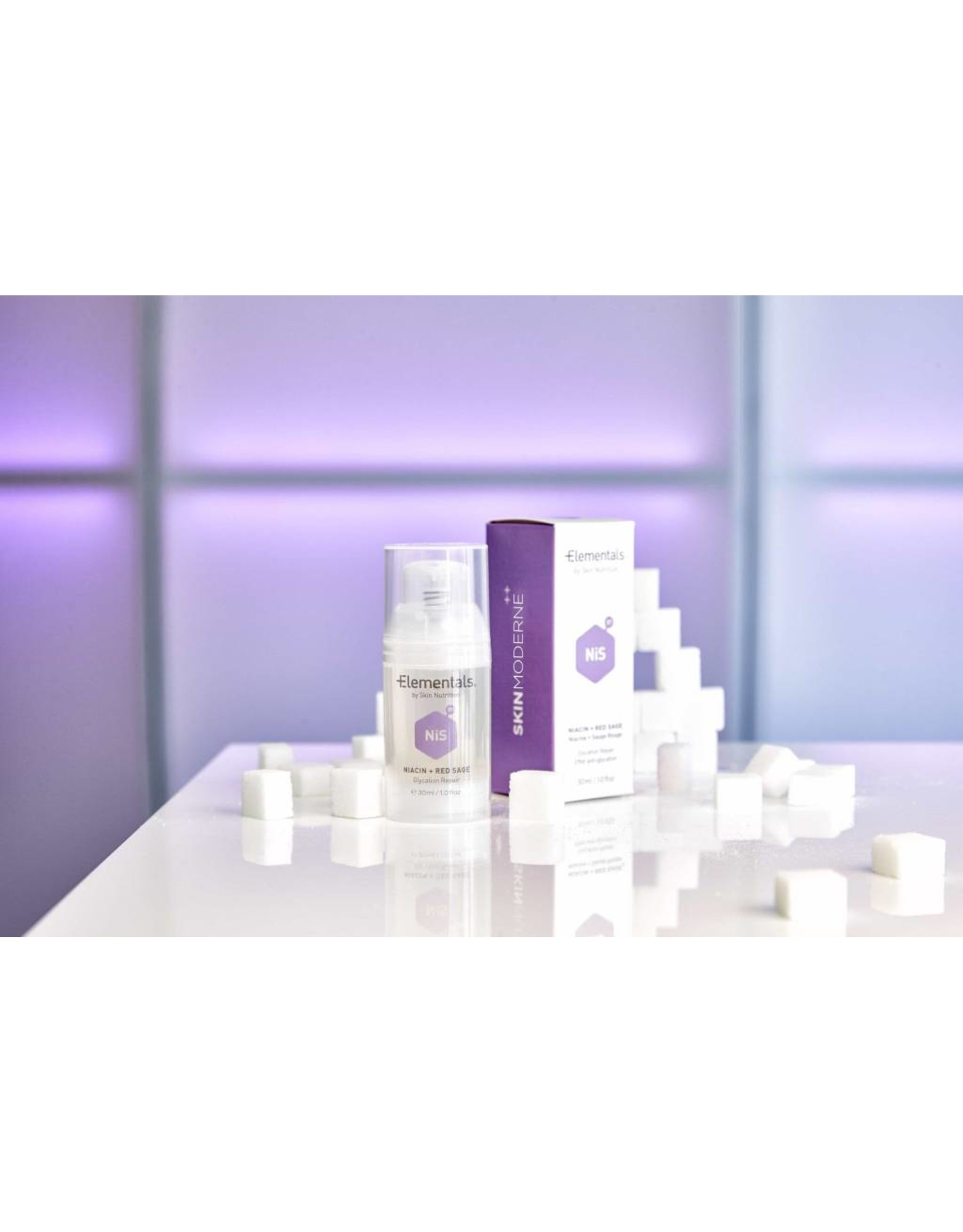 Elementals - by Skin Nutrition Elementals Niacine & sauge rouge
