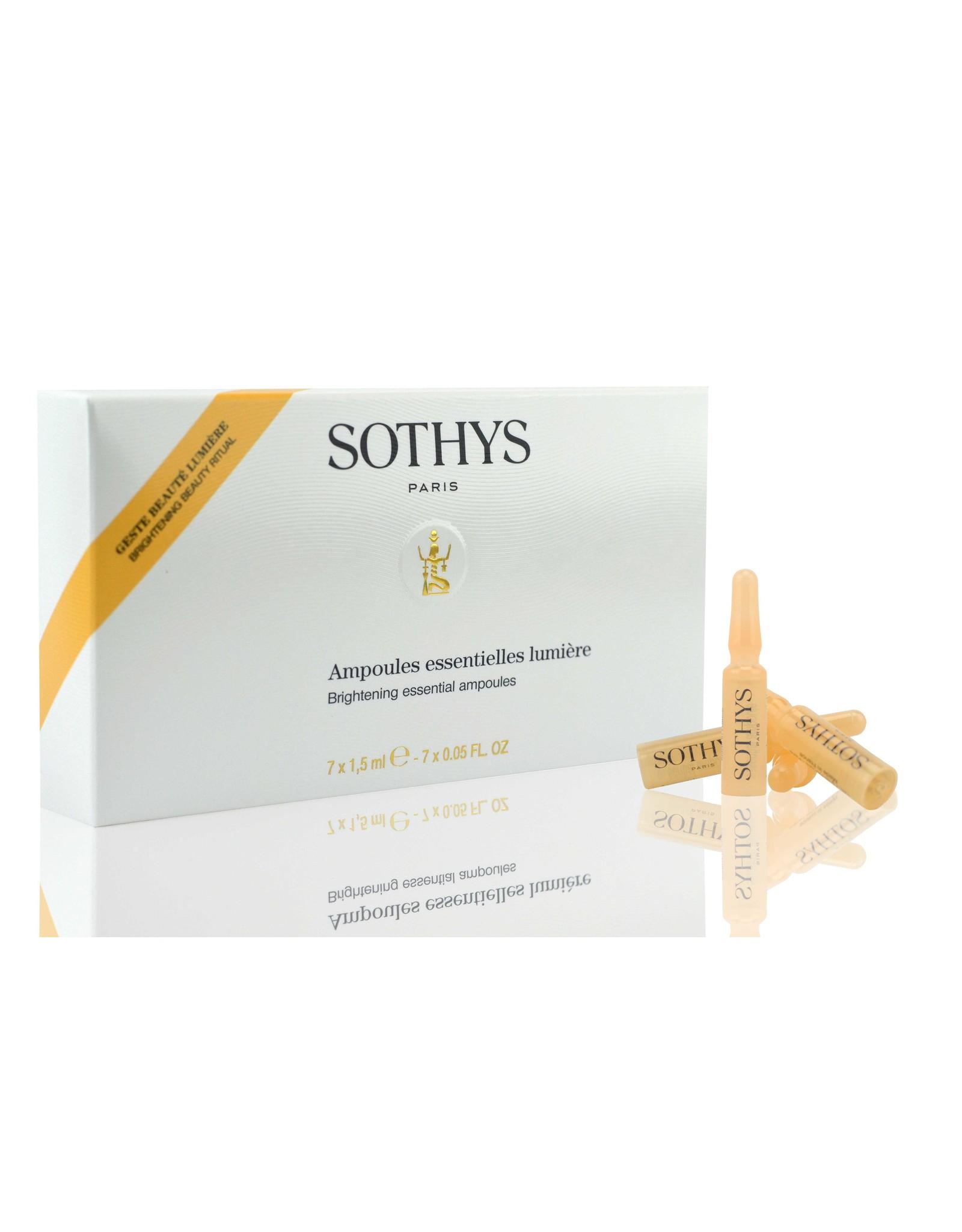 SOTHYS -20% Ampoules essentielles lumière - Sothys