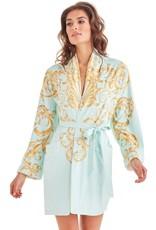 - 50% Robe de bain - Baroque Seafoam