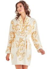 - 50% Robe de bain - Baroque Stripes