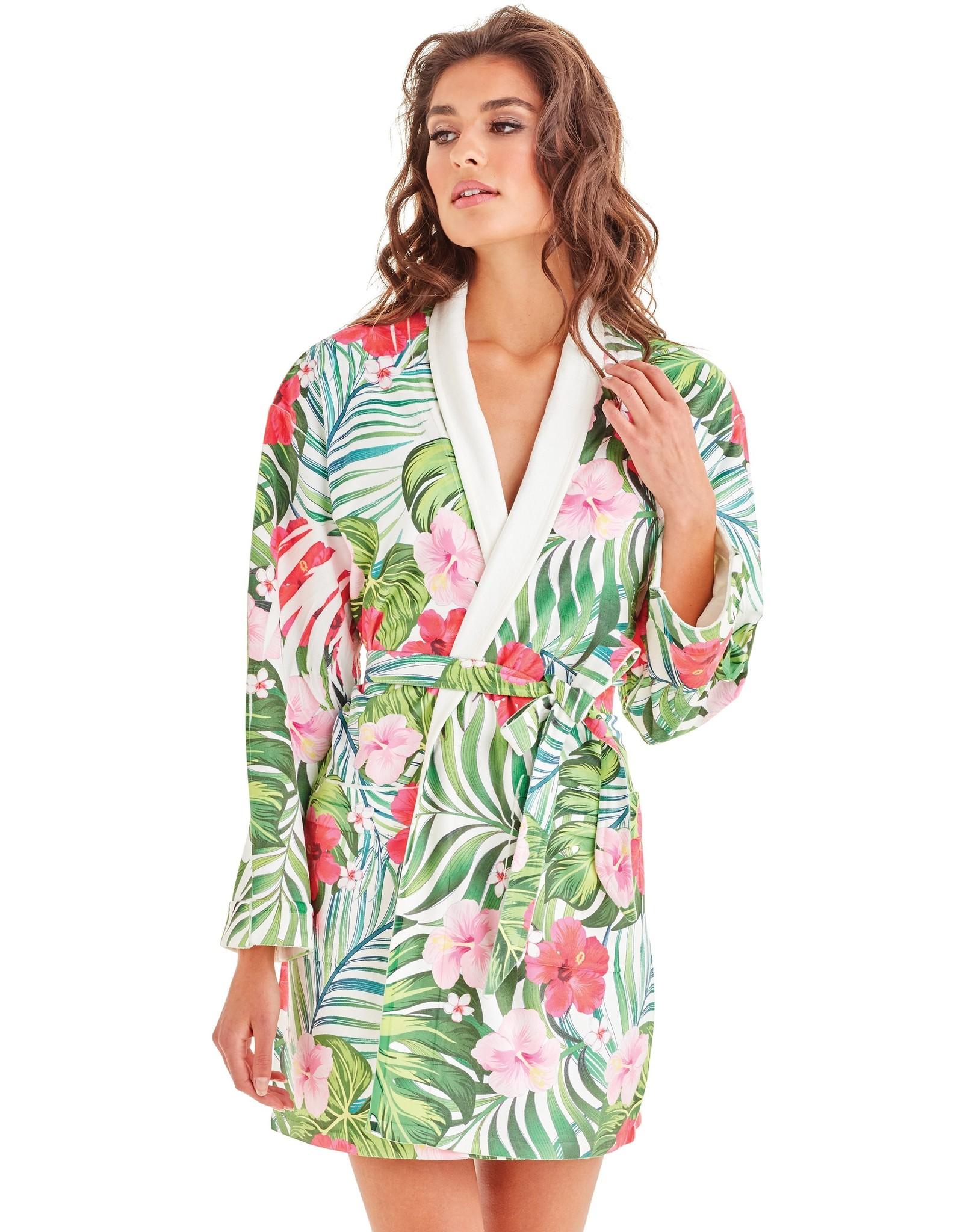 - 50% Robe de bain - Tropical