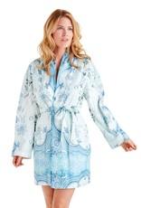 - 70% Bathrobe - Marrakesh Blue