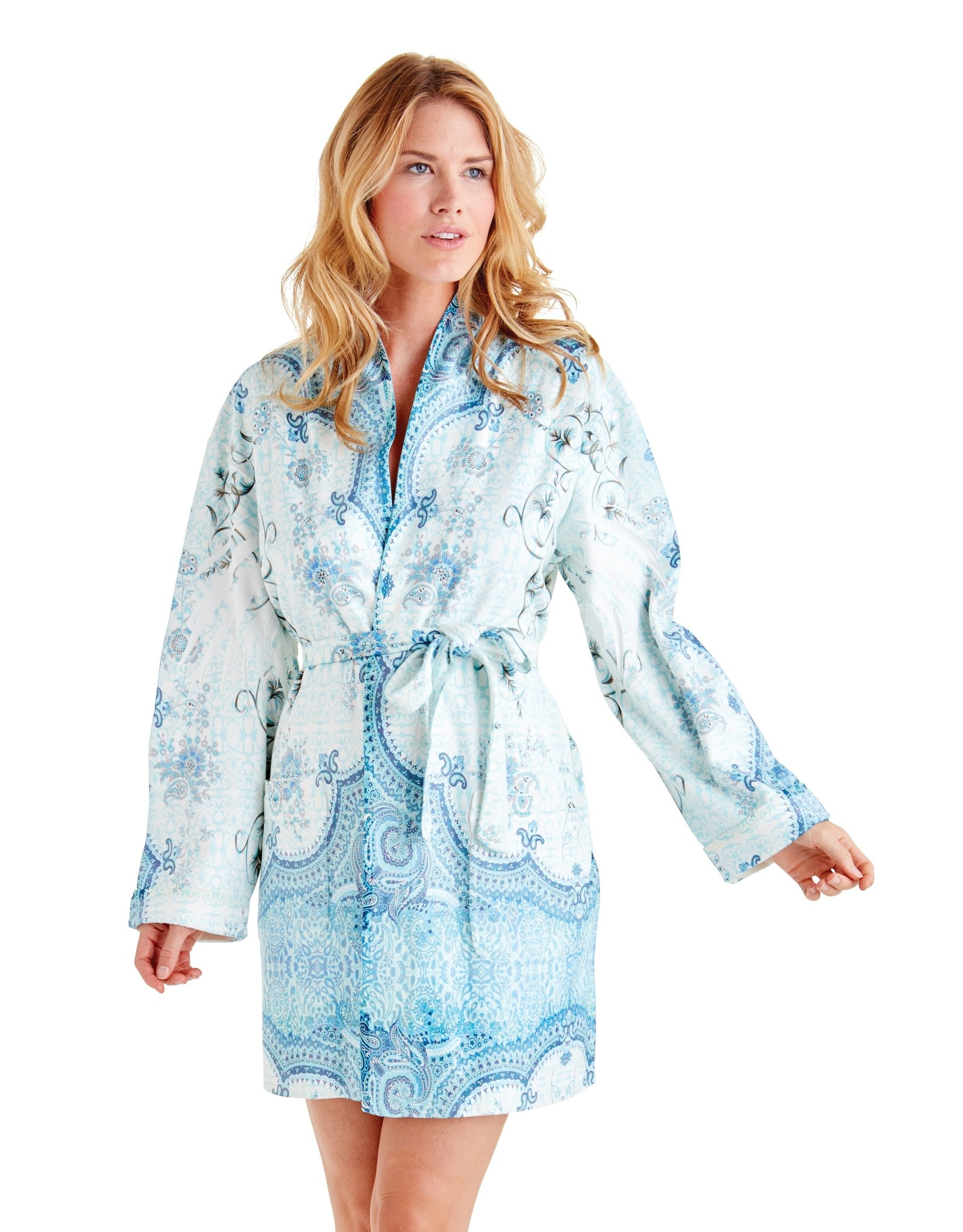 - 50% Bathrobe - Marrakesh Blue