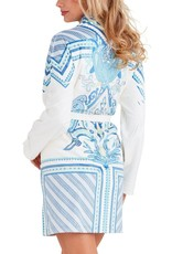 - 50% Bathrobe - Coachella Blue