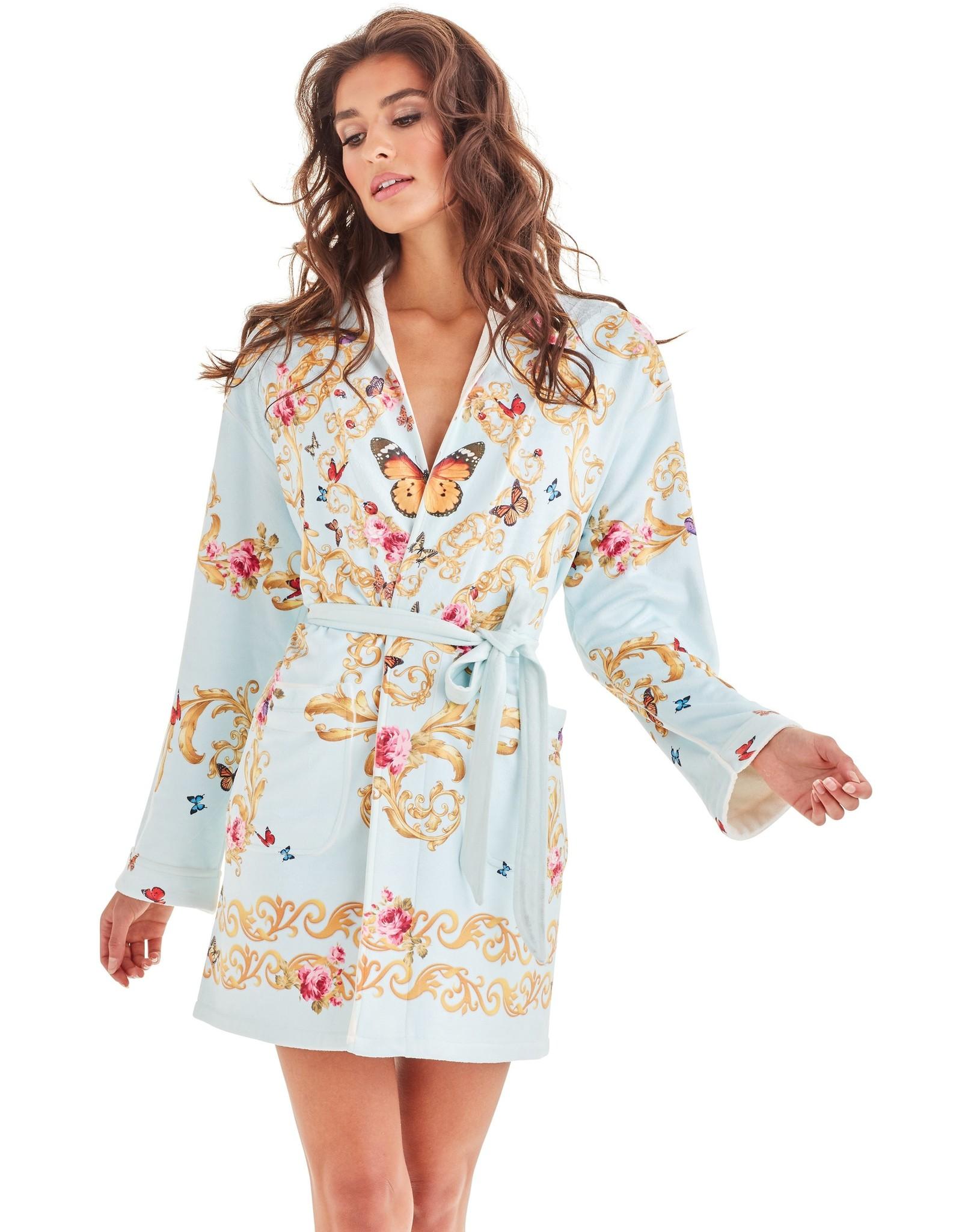 -70% Robe de bain - Blue Butterfly
