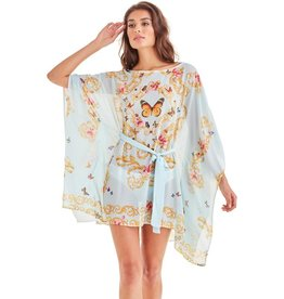 -70% Tunic - Blue Butterfly