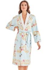 -50% Robe de bain long - Blue Butterfly