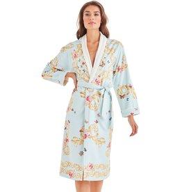 -70 Robe de bain long - Blue Butterfly