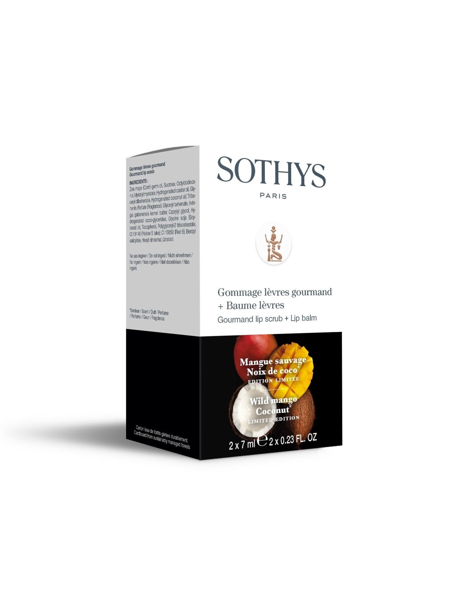 SOTHYS Gommage lèvres + Baume lèvres - Edition limitée