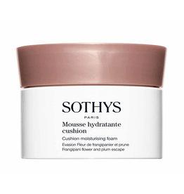 SOTHYS -30% Mousse hydratante cushion - Frangipania et prune - Sothys