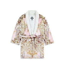 - 50% Bathrobe for kids - Pearl Maximum Pink