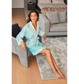 - 50% Robe de bain - Romantique Blue