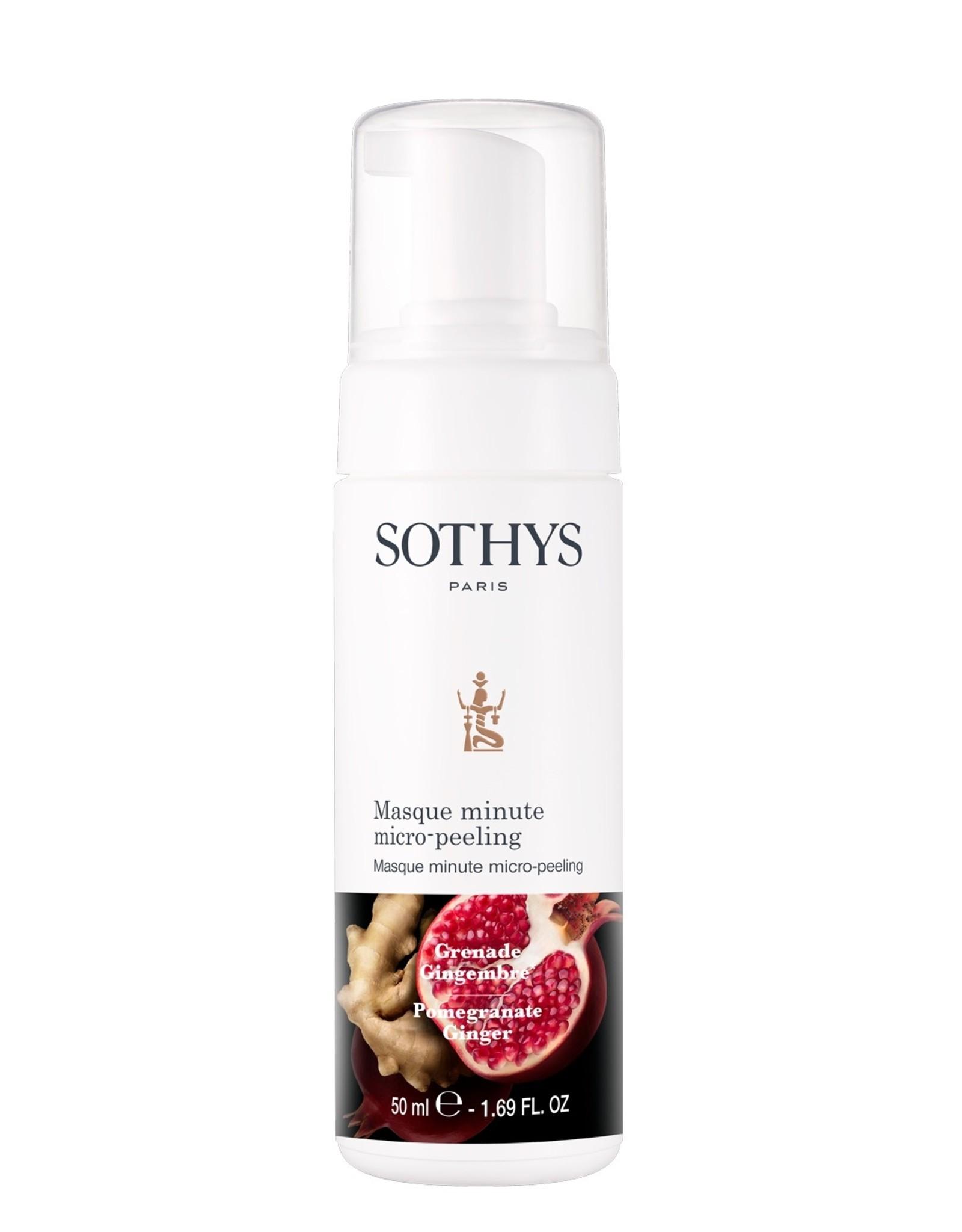 SOTHYS Masque minute micro-peeling - Sothys