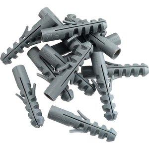 Tooltech Pluggen 6 mm x 30 mm Nylon / 100 Stuks