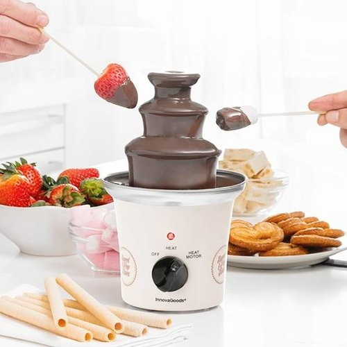 Innovagoods Sweet & Pops Chocoladefontein - 70 W - Wit Staal