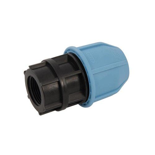 """Plumbob Tyleen / MDPE Vrouwelijke adapter 25 mm x 3/4"""""""