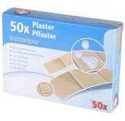 B-Deal Waterproof Pleisters - 50 Stuks