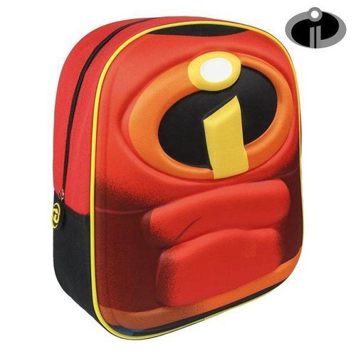 Ekuizai 3D Schooltas / Rugzak - The Incredibles