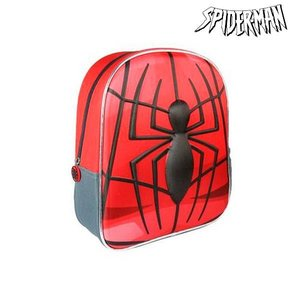 Ekuizai 3D Schooltas / Rugzak - Spiderman - Spider Red