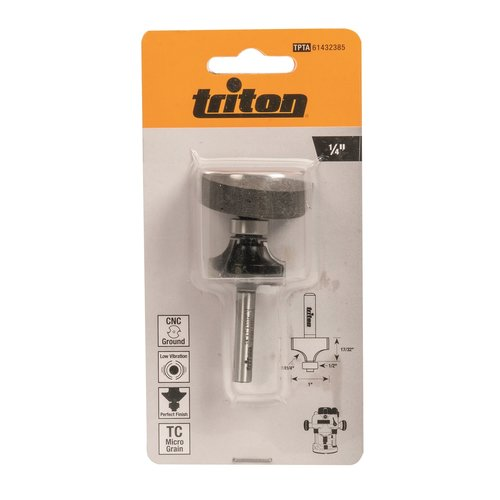 Triton Kwartrondfrees 1/4 Inch - (1 Inch x 17/32 Inch)