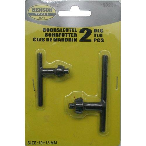 Hofftech Boorkopsleutel 10 & 13 mm