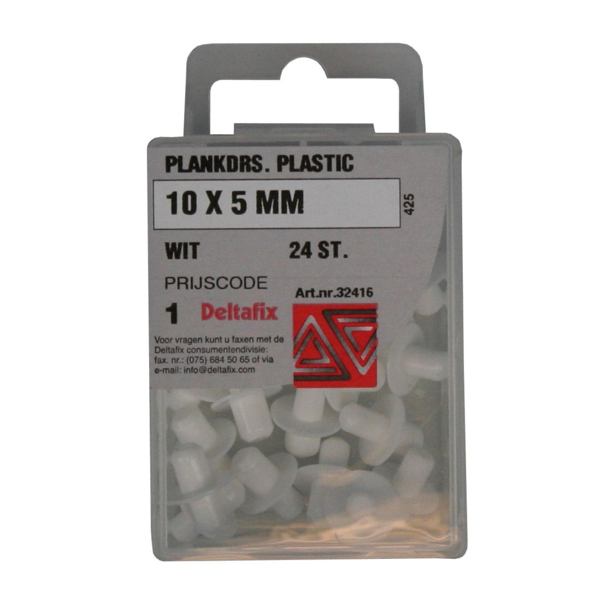 Plankdragers 10 X 5 mm Plastic