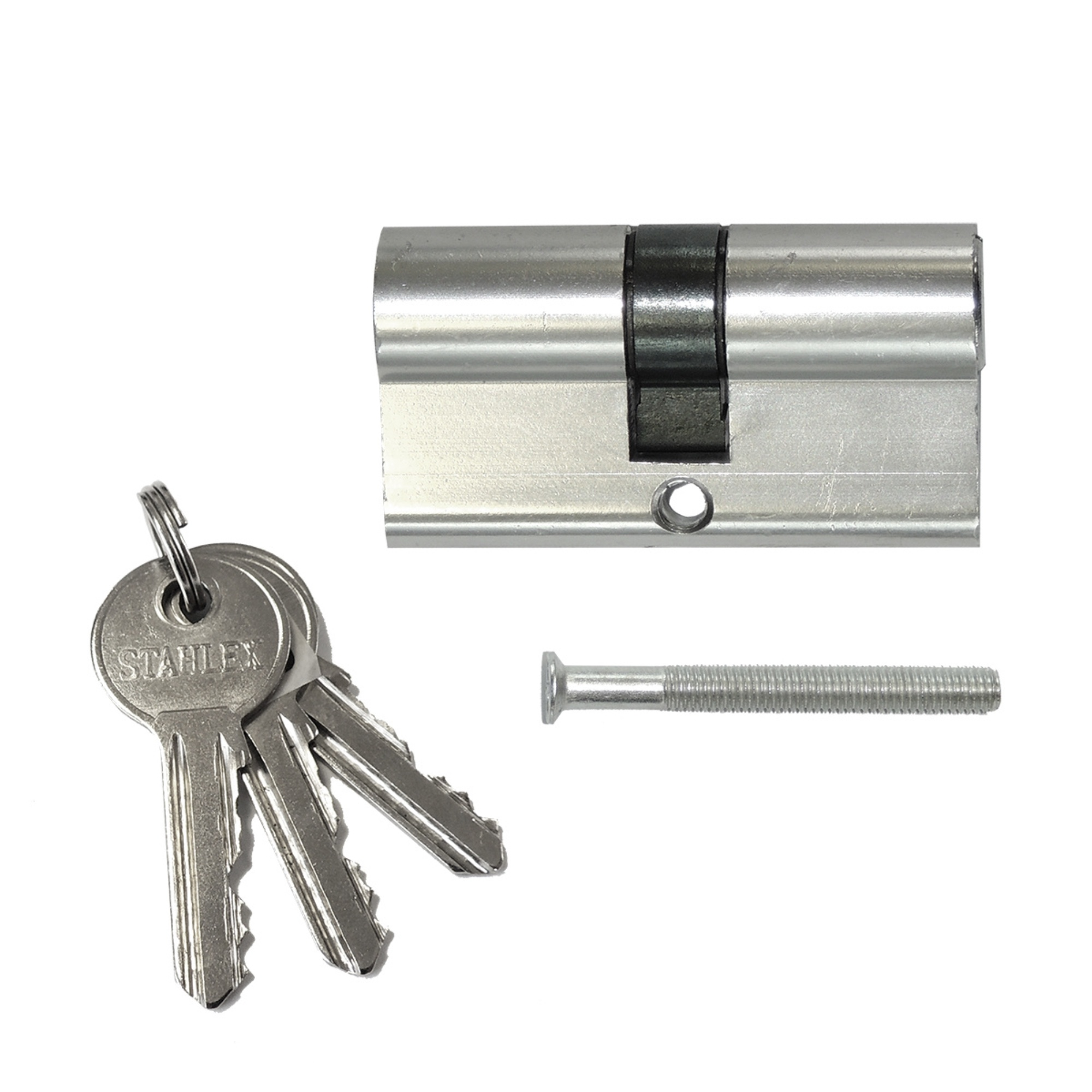Euro profielcilinder 30/30 - 3 sleutels