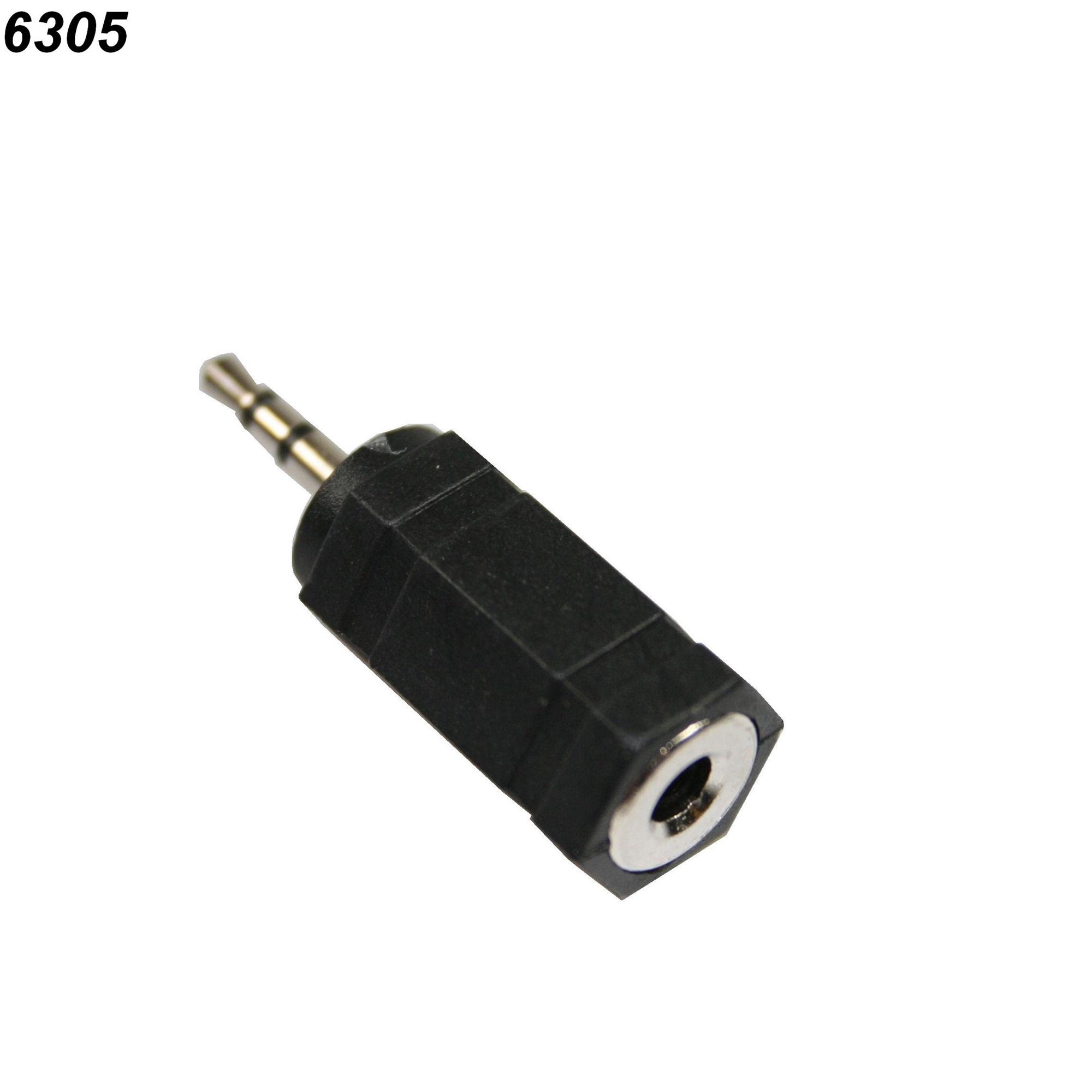 Hoofdtelefoon Verloopplug 2,5 3,2