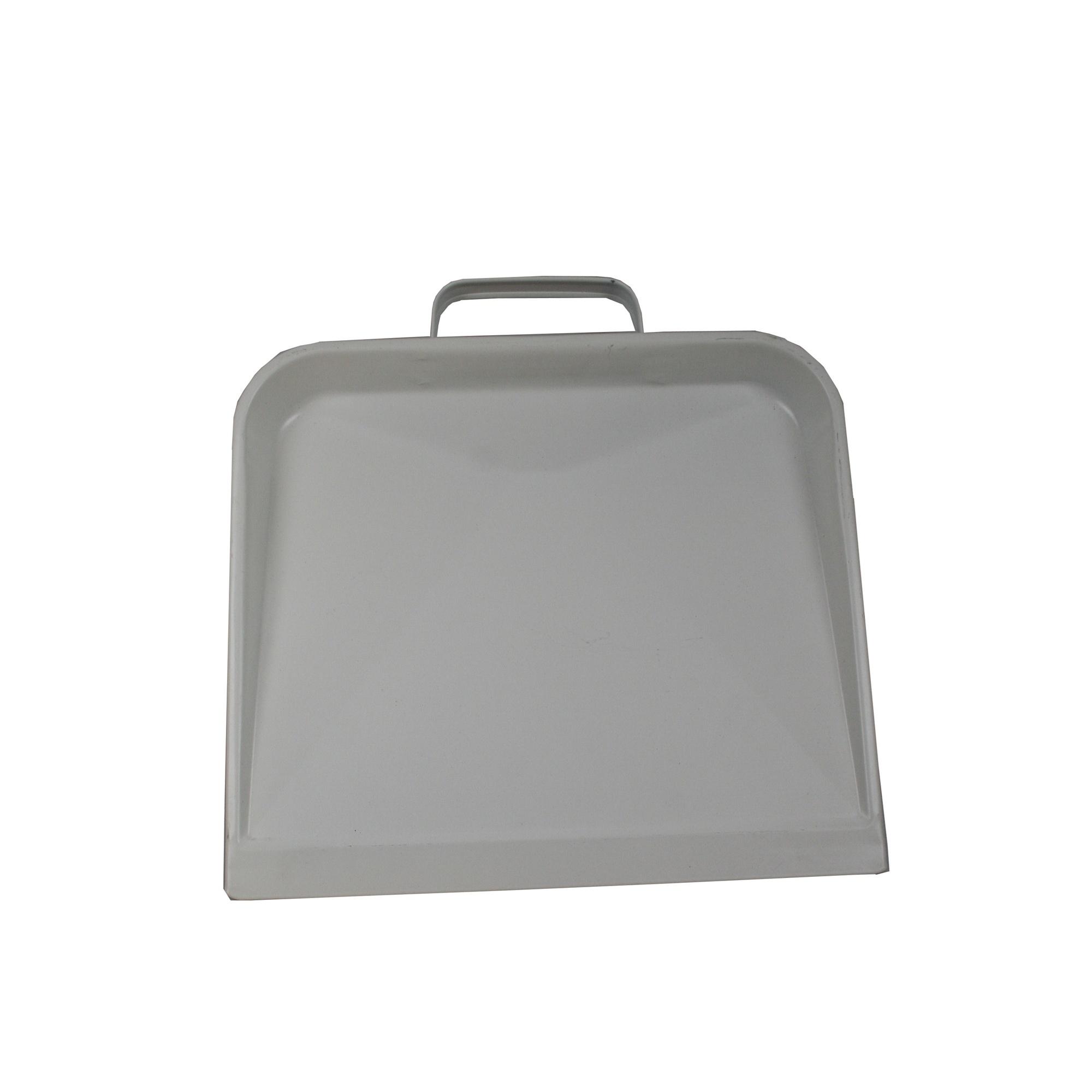 Stofblik Metaal Wit Basic (32x23cm)