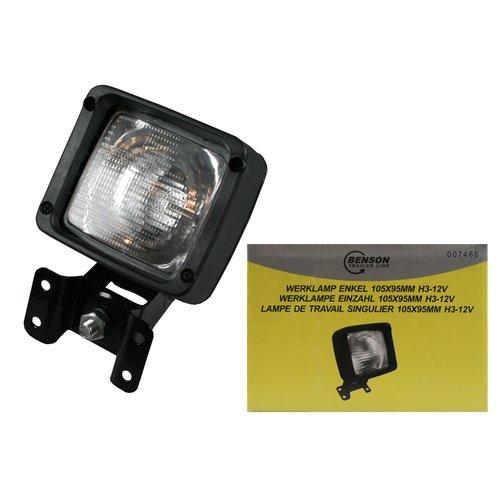 Hofftech Werklamp Enkel 105X95 mm H3-12V incl Voet