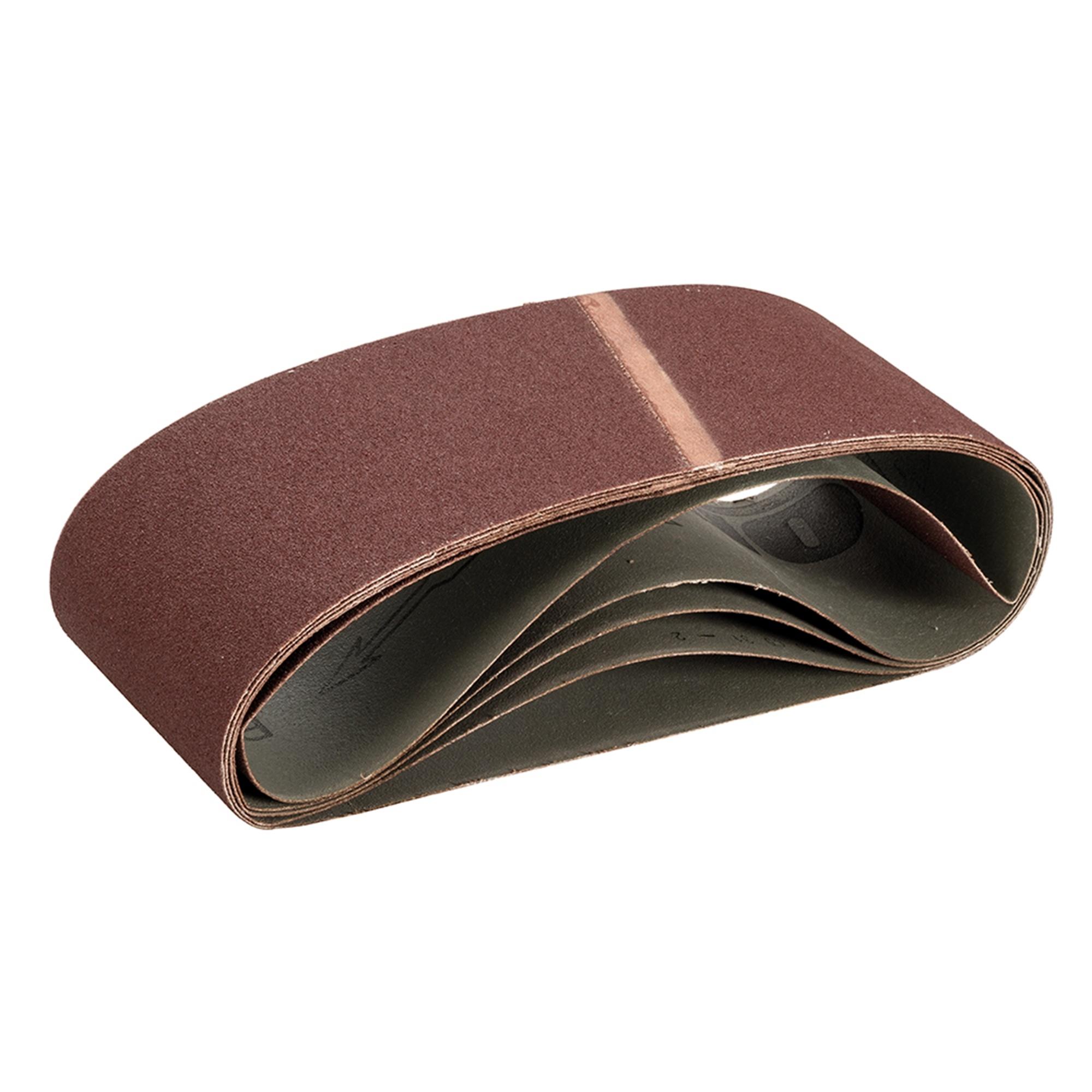 Schuurband 100 x 610 mm, 100 Korrel - 5 Stuks