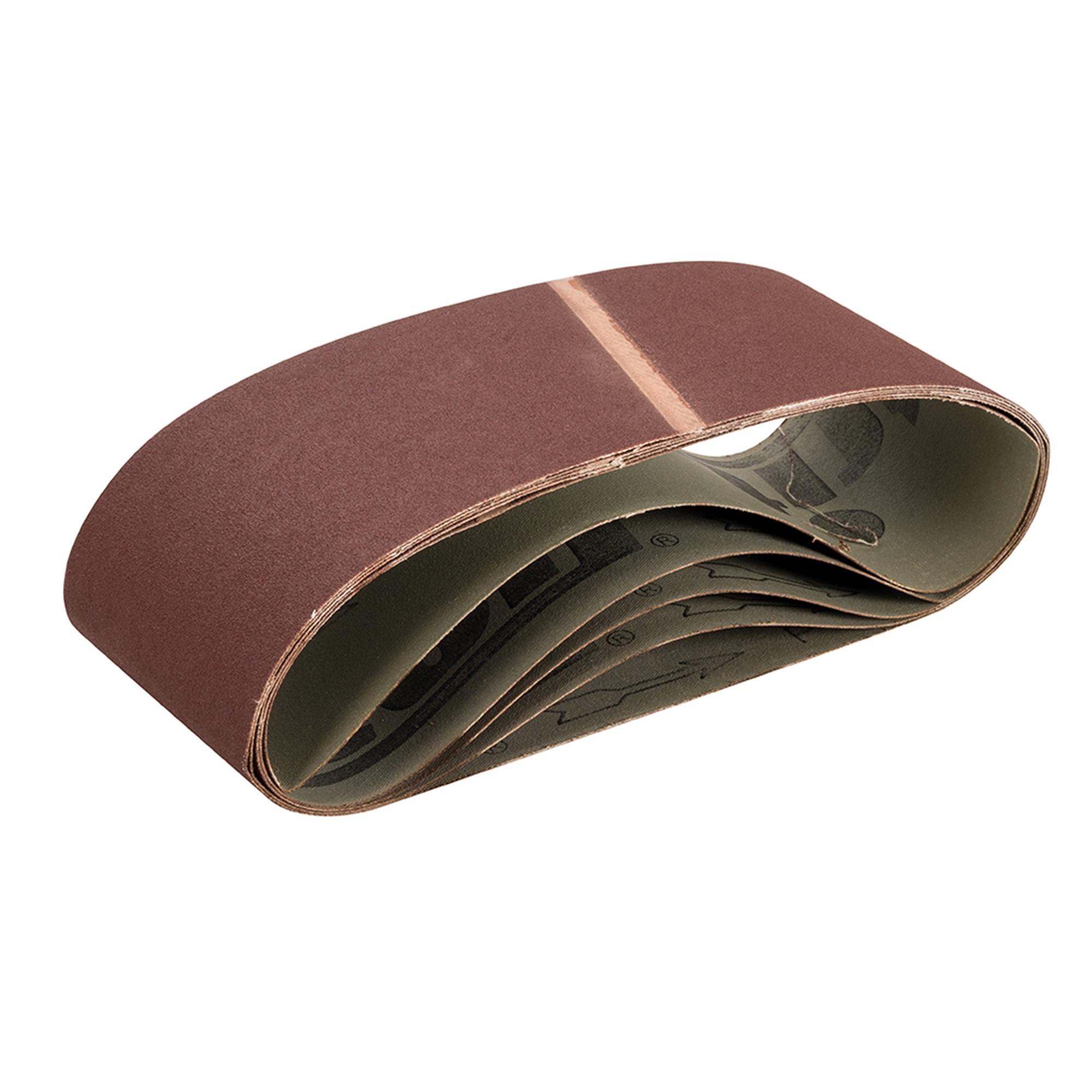 Schuurband 100 x 610 mm, 150 Korrel - 5 Stuks