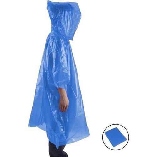 B-Deal Wegwerp Regen Poncho  - Maat L - Mix Kleur
