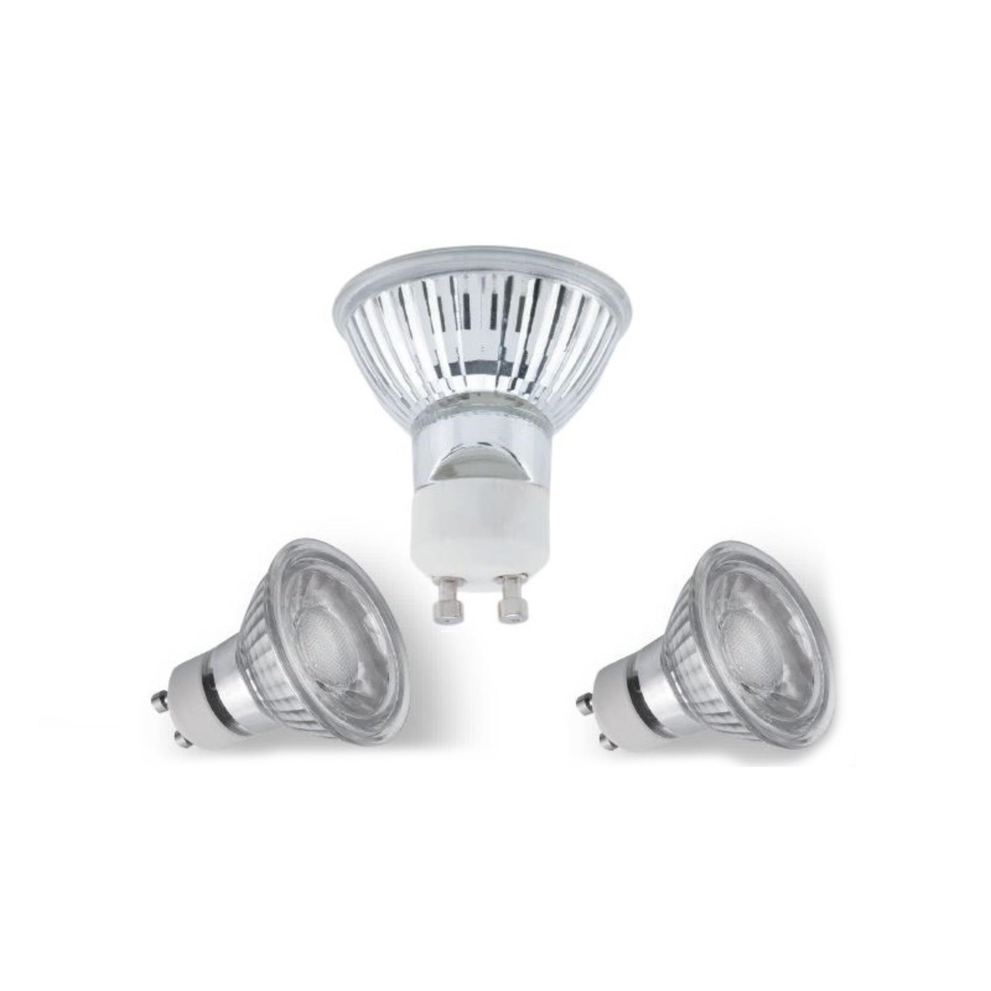 Classic LED Spot - 5 Watt. - Warmwit 3000K - GU10 - 3 Stuks