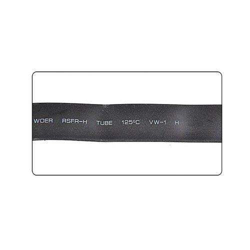 Hofftech Krimpkous 13mm x 2 Meter Zwart