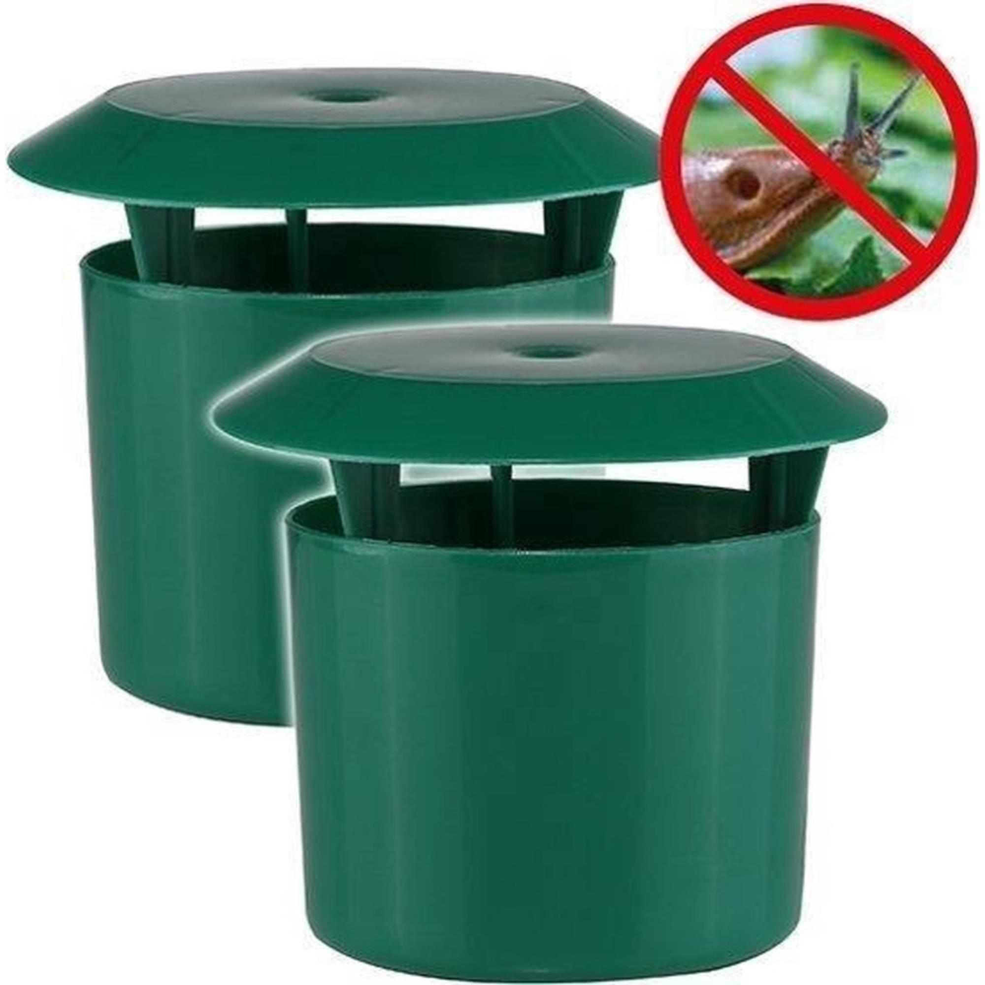 Benson Slakkenval - Slakkenvangpot - Groen - 2 stuks