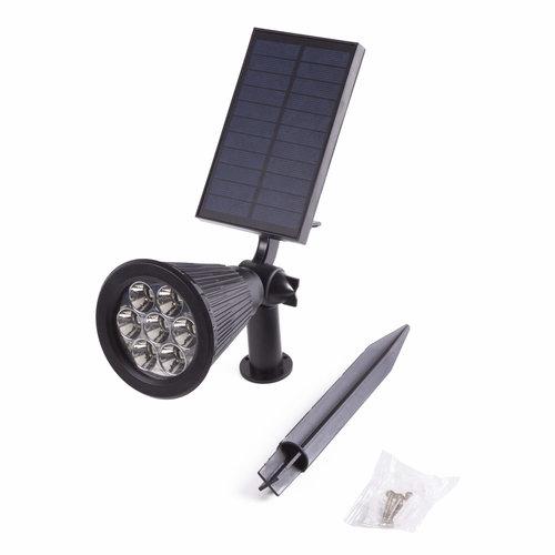 Hofftech Hofftech LED Prikspot/Wandspot Solar - CDR Sensor - IP65 - 1800 mAh - 3.7 Volt