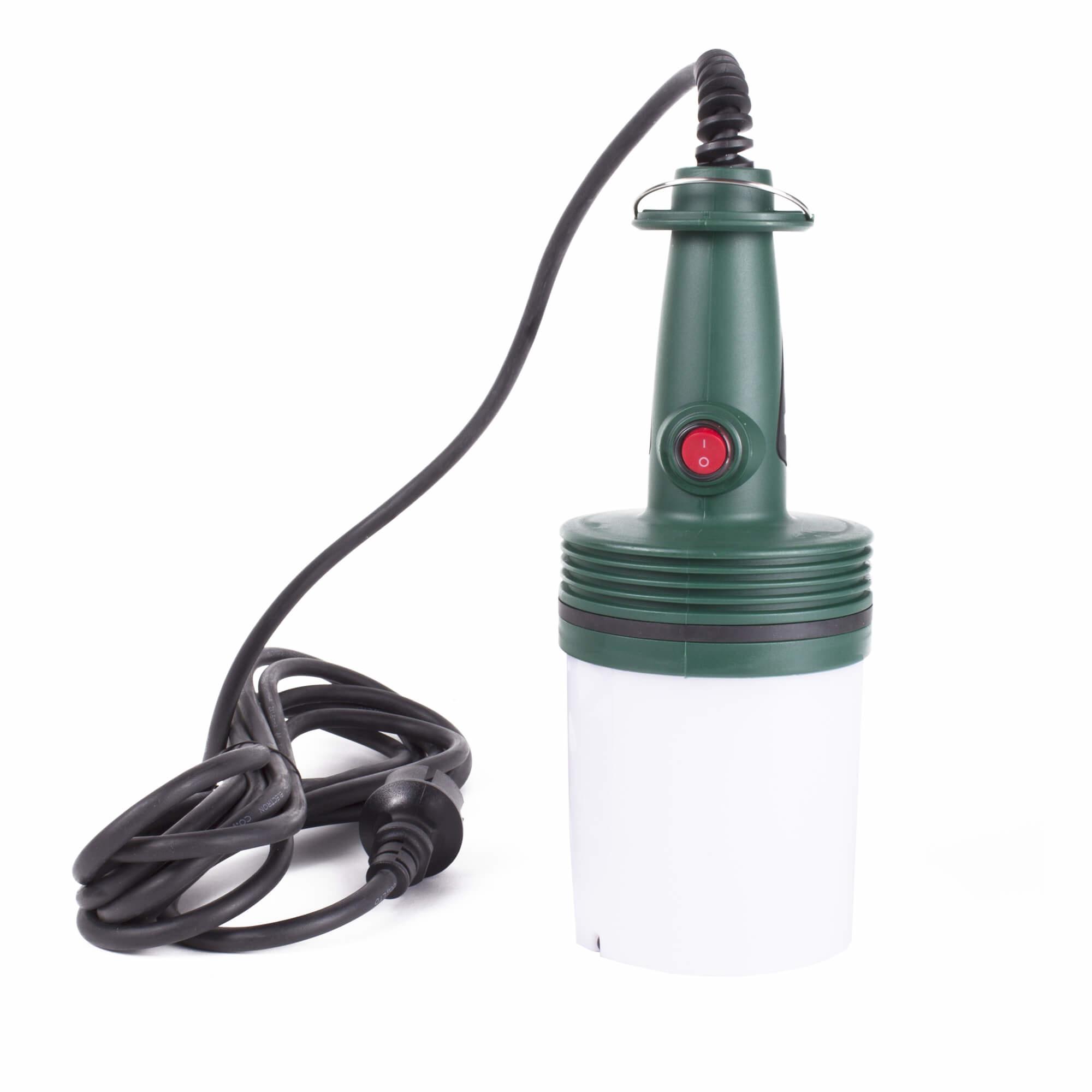 Hofftech LED Looplamp met Haak - 5 meter - Warmwit 4000K - 11 x 27 cm.