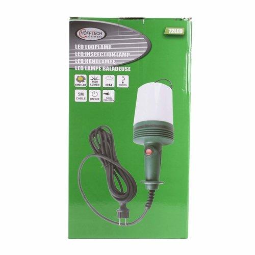 Hofftech Hofftech LED Looplamp met Haak - 5 meter - Warmwit 4000K - 11 x 27 cm.