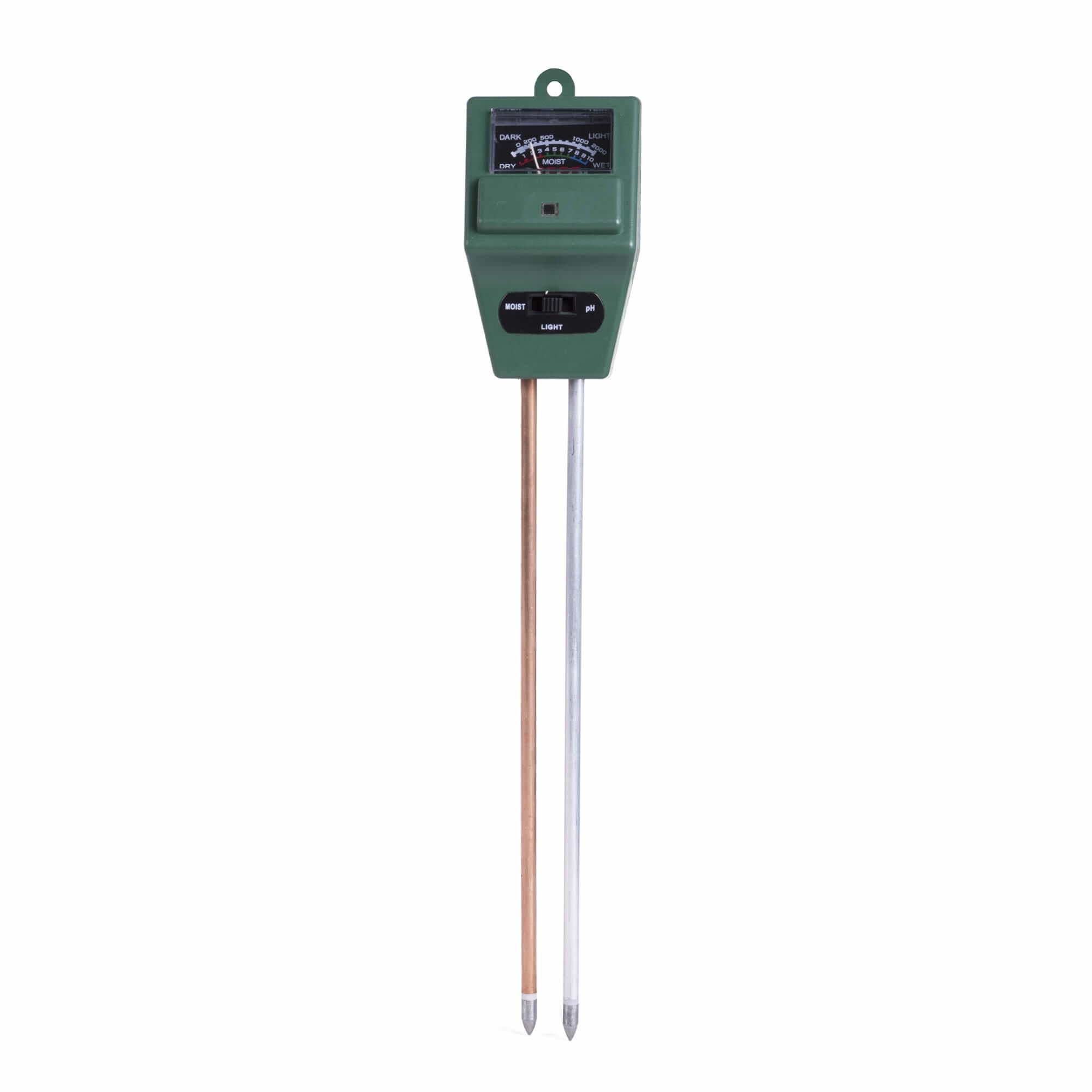 Benson Bodemtester - PH-Meter - Groen - 3-in-1 Functionaliteit